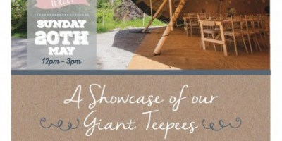 Teepee Wedding Fair - May 2018