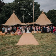 BAR Events UK Two Teepee Package Package