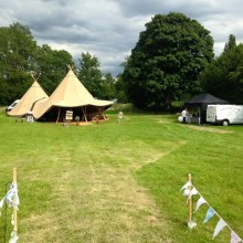BAR Events UK Twin Teepee Package Package