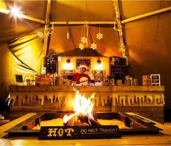 Ilkley Christmas Teepees 2016 at Bar Events UK